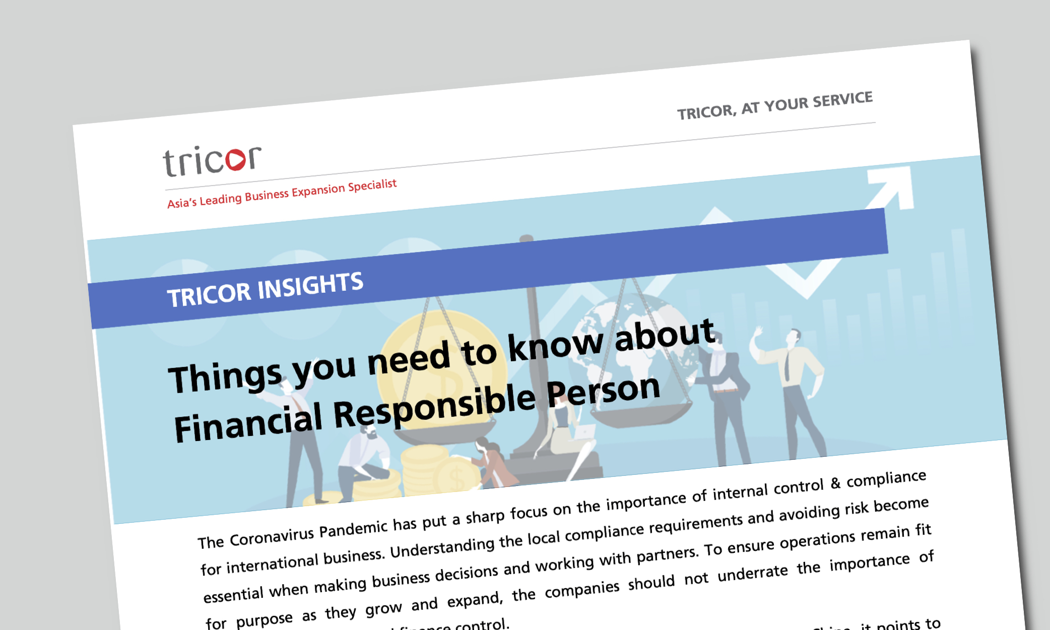 Tricor Insights: Things you need to know about Financial Responsible Person