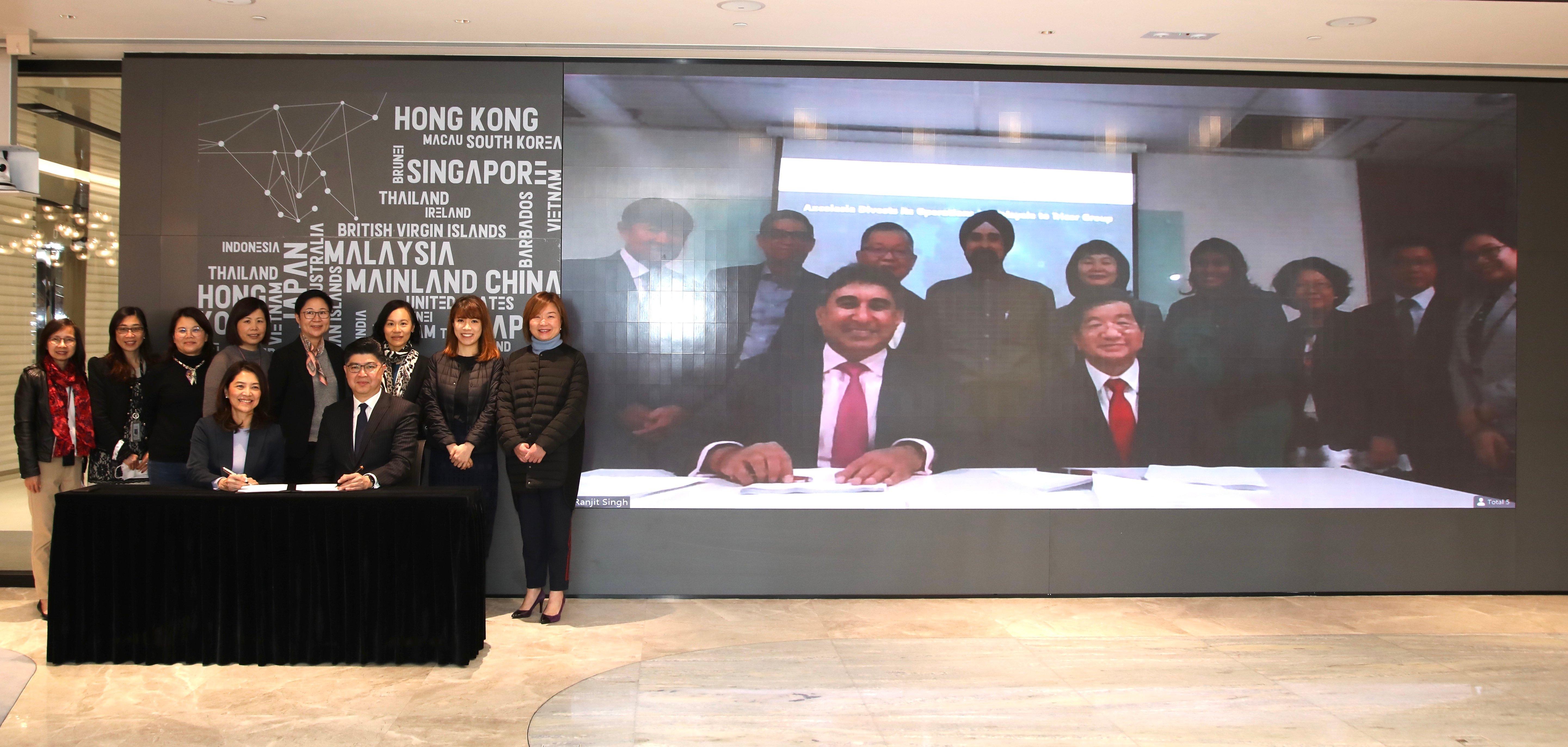 卓佳集团签署收购Axcelasia Inc.(新交所上市公司)