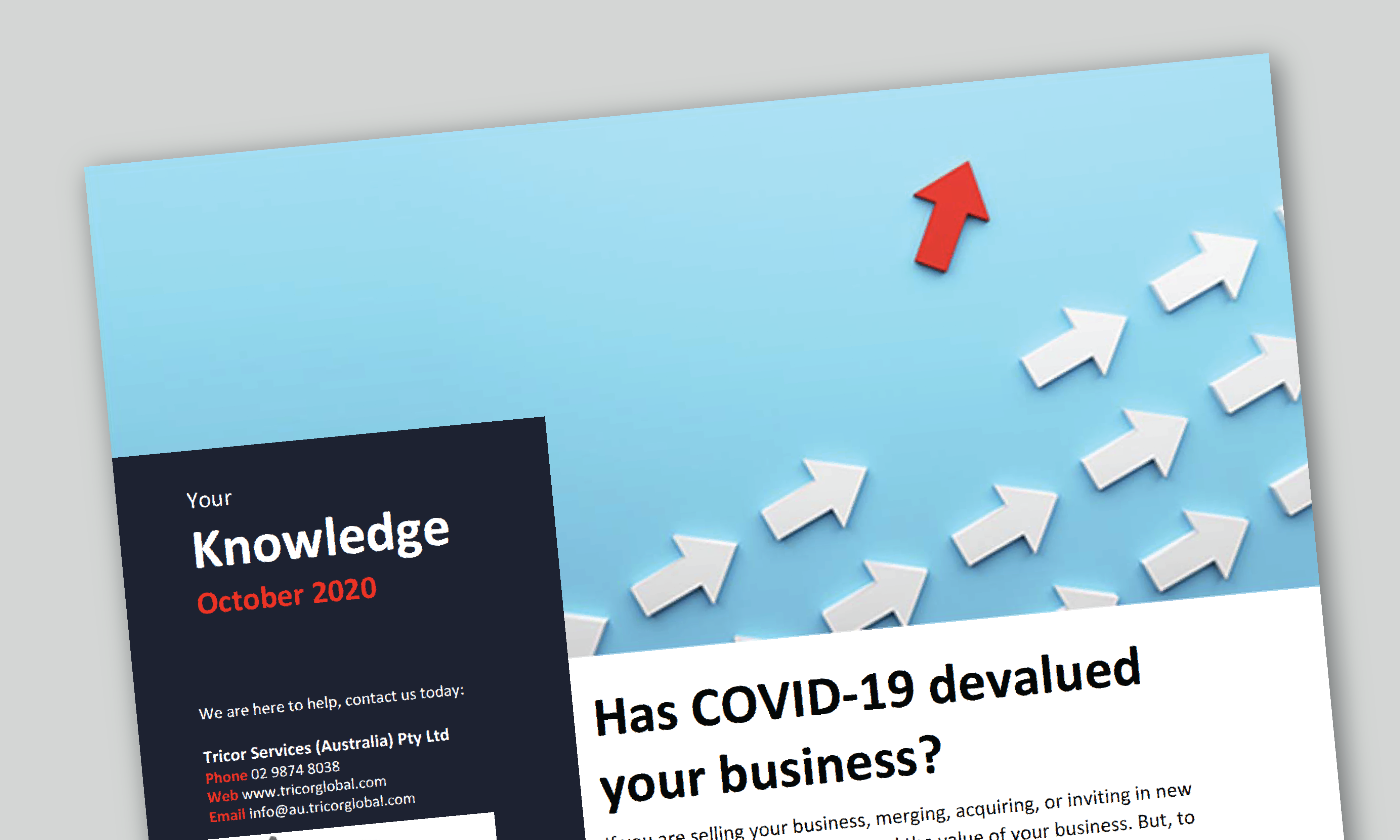 October Issue - Your Knowledge Series