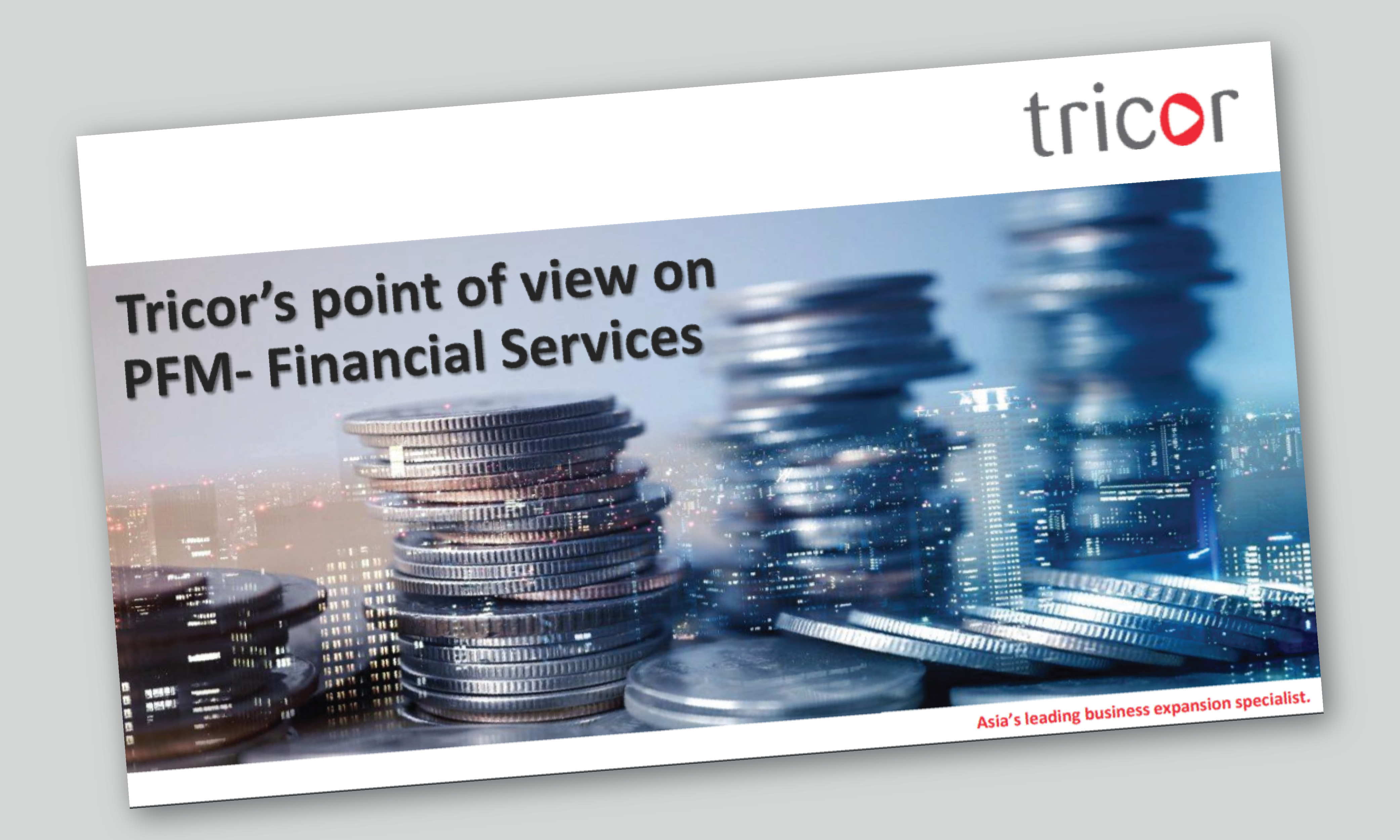 Tricor Point of View on PFM - Financial Services Presentation