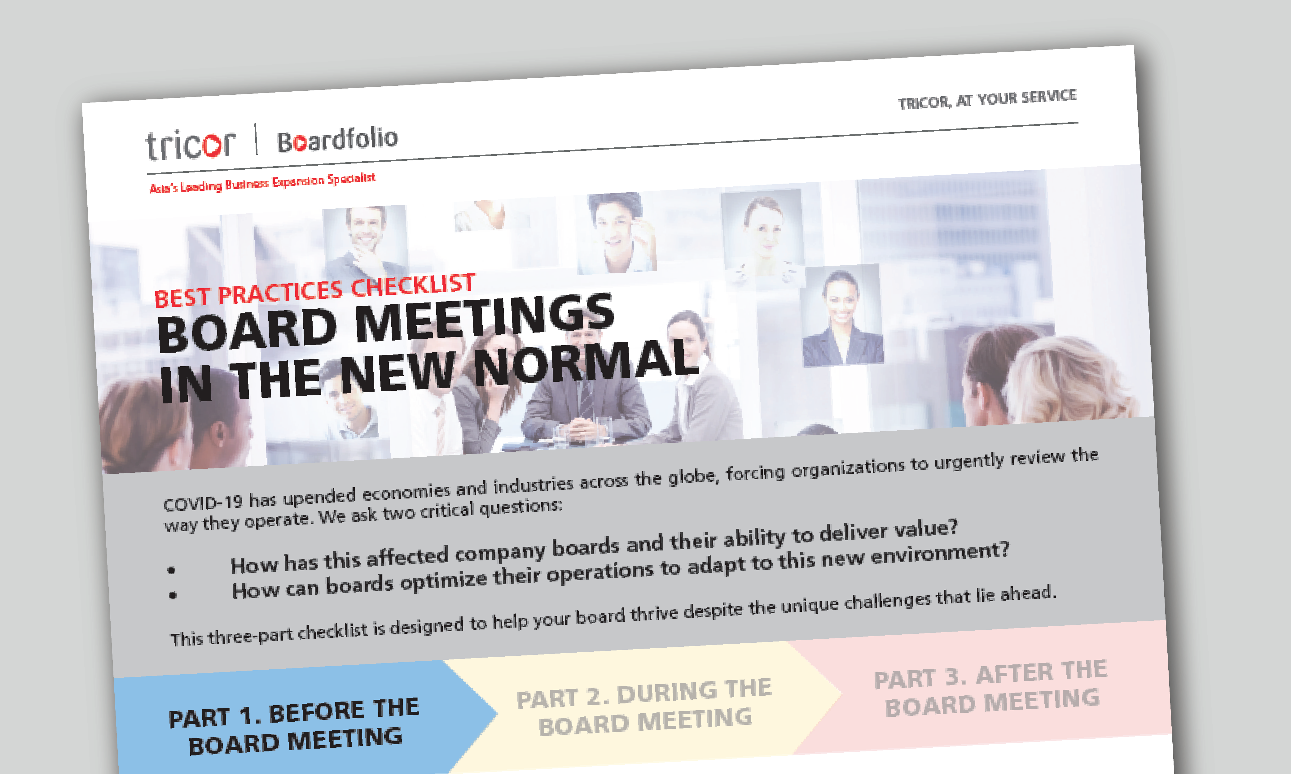 Board Meetings in the New Normal - Part 1