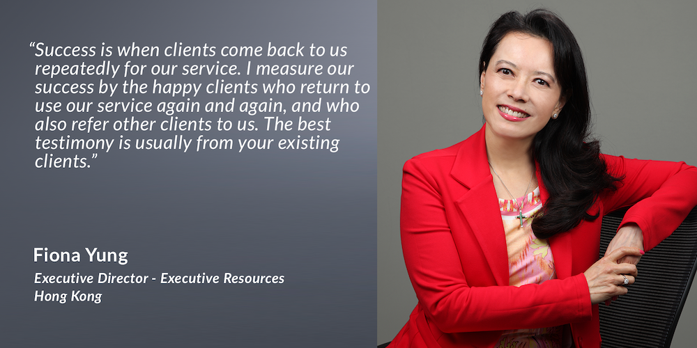 Fiona Yung, Executive Director – Executive Resources
