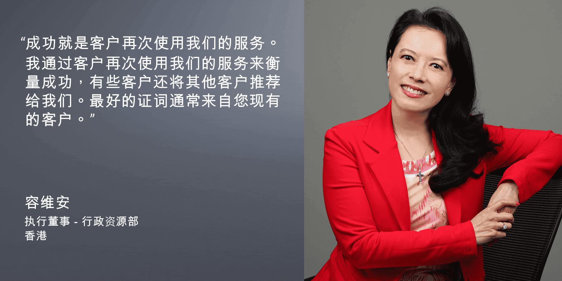 容维安, 执行董事 – 行政资源部