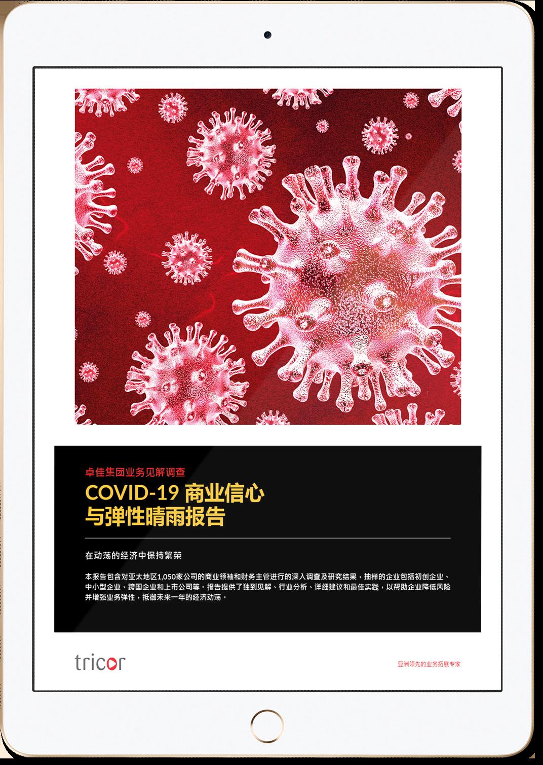 COVID-19商業信心與彈性晴雨報告