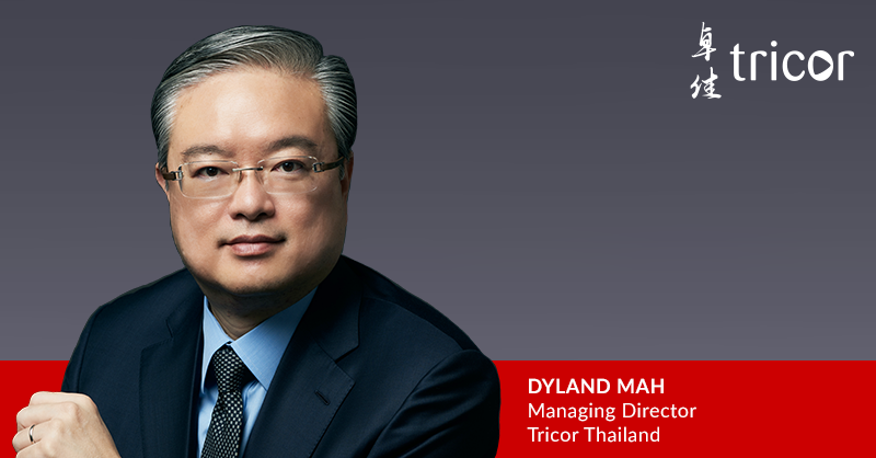 Tricor Group appoints Dyland Mah as Managing Director to lead growth in Thailand