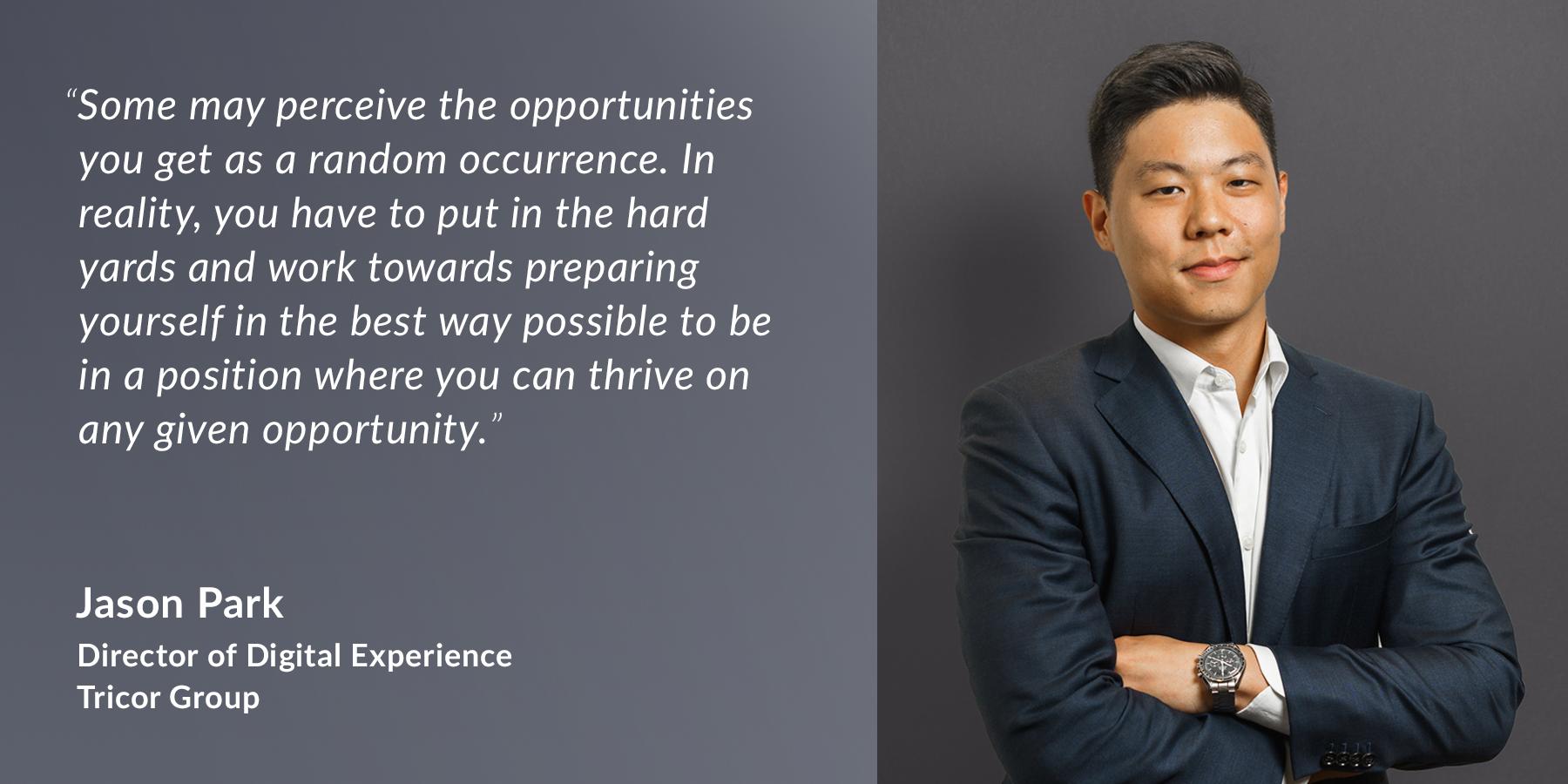 Jason Park - Director of Digital Experience - Tricor Group