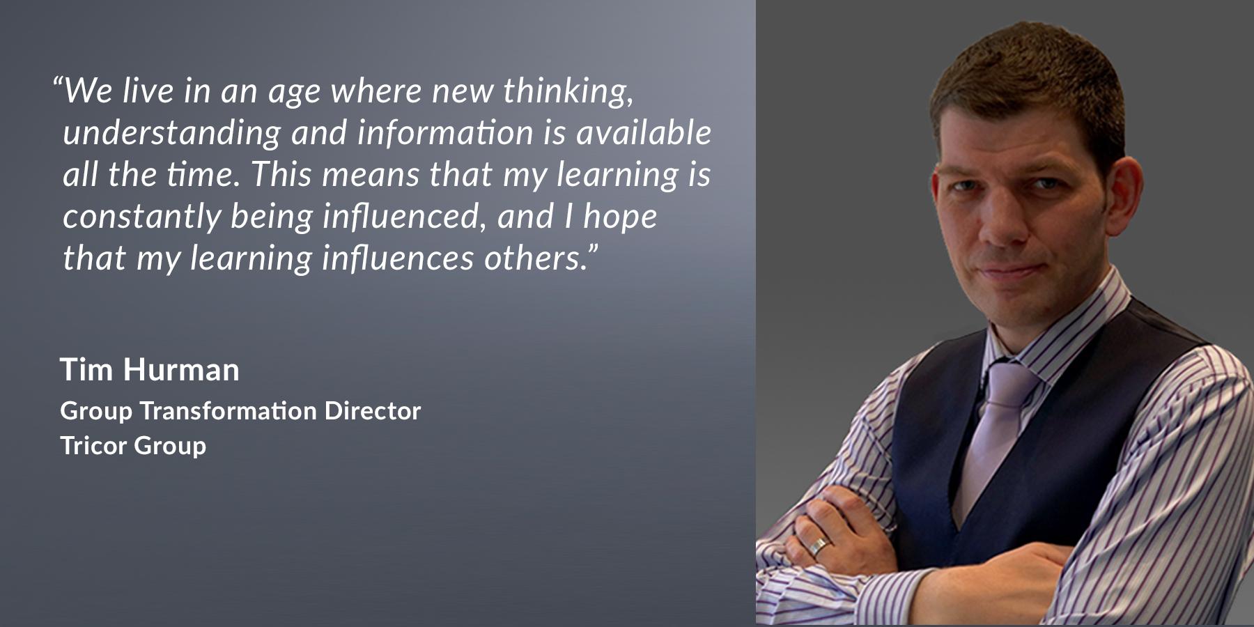 Tim Hurman - Group Transformation Director