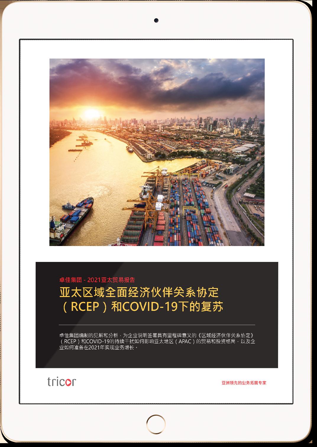 亞太區域全面經濟夥伴關係協定(RCEP)和COVID-19下的復甦