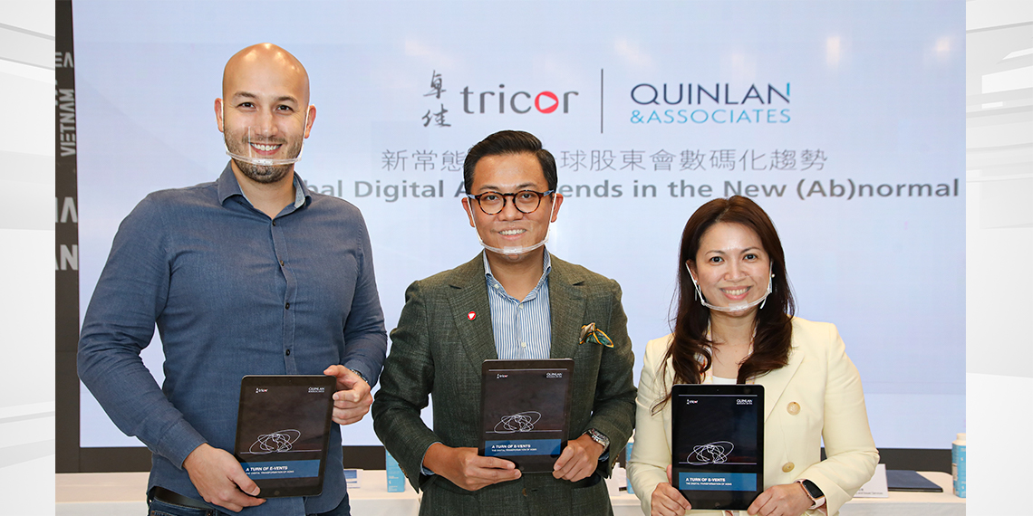 Tricor and Quinlan Jointly Announce Research Findings on Global Digital AGM Trends