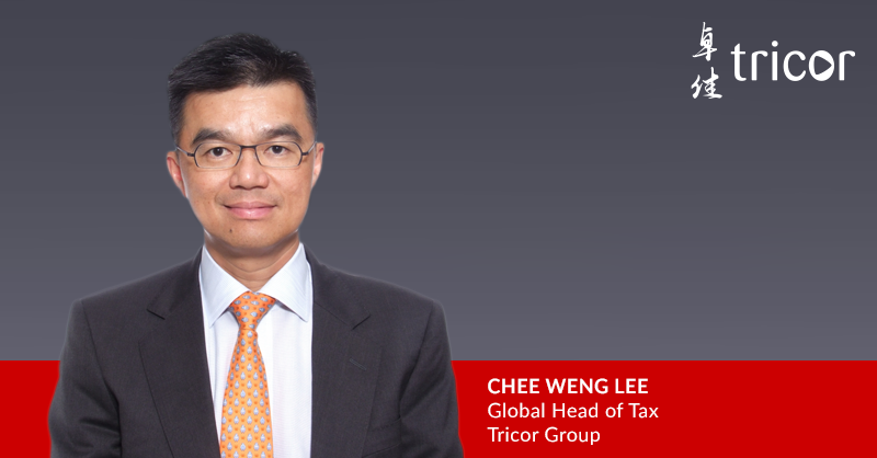 Tricor Group Invests in Tax Compliance and Advisory in Asia with appointment of Lee Chee Weng as Global Head of Tax